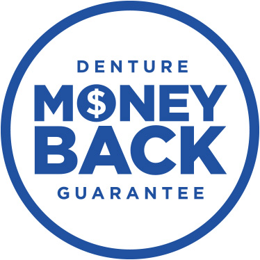 denture money back guarantee